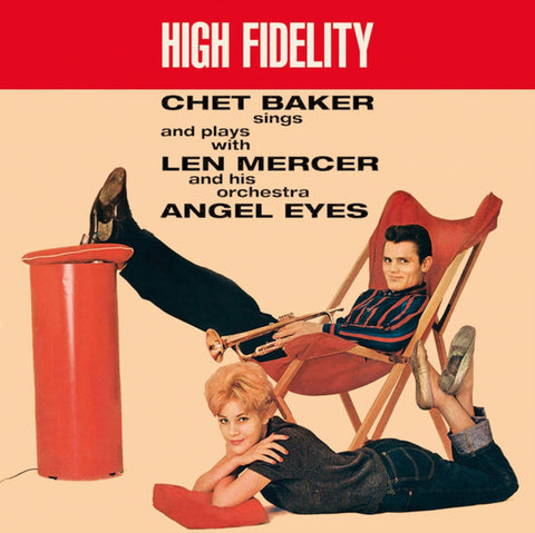 Chet Baker - Angel Eyes LP