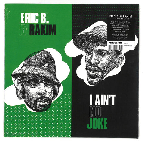 Eric B. And Rakim - I Ain't No Joke 7-Inch