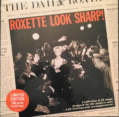 Roxette - Look Sharp LP (Clear Vinyl)