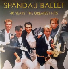 Spandau Ballet - 40 Years: The Greatest Hits 2LP (Red Vinyl)