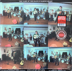 Talking Heads - The Name Of This Band Is Talking Heads 2LP (Red Vinyl)