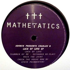 Adonis Presents Charles B - Lack Of Love 12-Inch