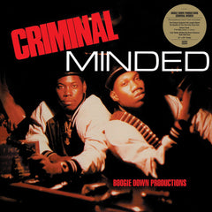 Boogie Down Productions - Criminal MInded 2LP