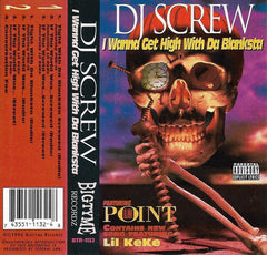 DJ Screw - I Wanna Get High With Da Blanksta Cassette