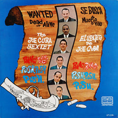 Joe Cuba - Wanted Dead Or Alive LP
