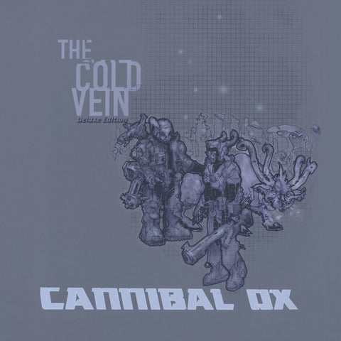 Cannibal Ox - The Cold Vein 4LP (Blue Vinyl)