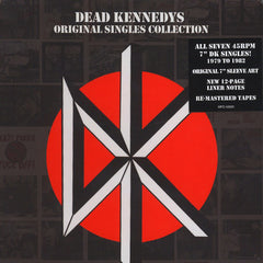 Dead Kennedys - Original Singles Collection 7x7-Inch Box