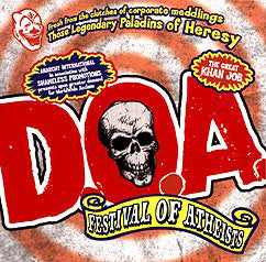 D.O.A. ‎– Festival Of Atheists LP