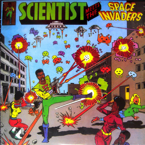Scientist - Meets The Space Invaders LP