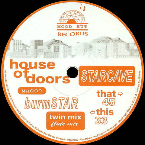 House Of Doors - Starcave EP