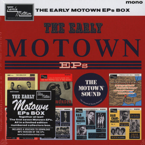 The Early Motown EPs - 7 x 7-Inch Box Set