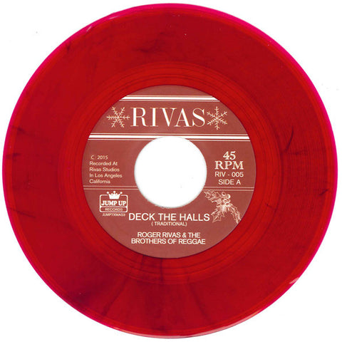 Roger Rivas - Deck The Halls / Jingle Bells 7-Inch