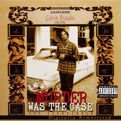 Murder Was The Case Soundtrack 2LP