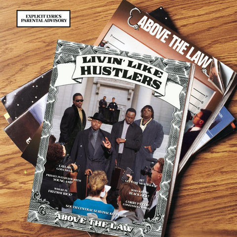 Above The Law - Livin ' Like Hustlers LP (Clear Vinyl, Numbered Edition)