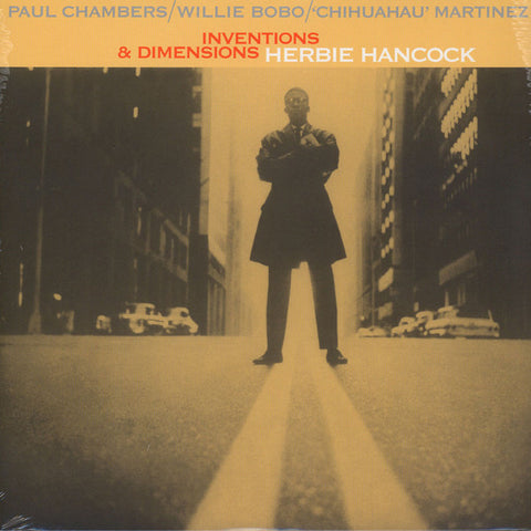 Herbie Hancock - Inventions & Dimensions LP