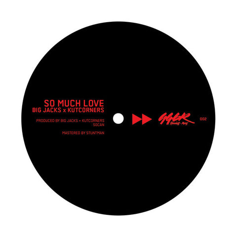 Big Jacks & Kutcorners - So Much Love 7-Inch