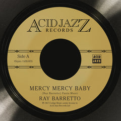 Ray Barretto - Mercy Mercy Baby 7-Inch