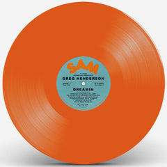 Greg Henderson - Dreamin EP (Orange Vinyl)