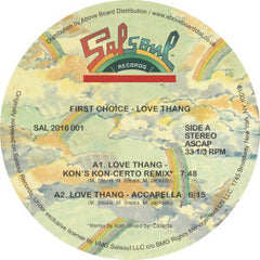 First Choice - Love Thang (Kon Remix) EP