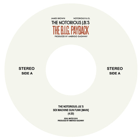 Biggie vs James Brown - Sex Machine 7-Inch