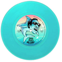 Shark Attack!! - Big Chief 7-Inch (Aqua Blue Vinyl)