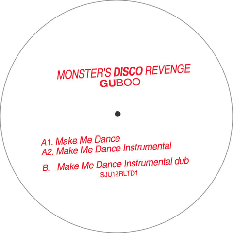 GUBoo -  Monster Disco Revenge 12-Inch