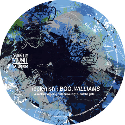 Boo Williams - Replenish EP