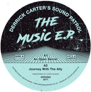 Derrick Carter - The Music EP