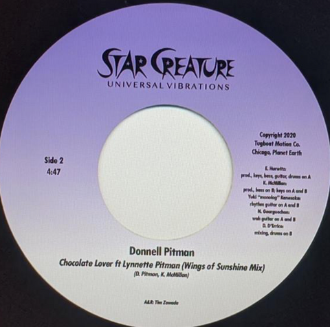 Donnell Pitman - Chocolate Love 7-Inch