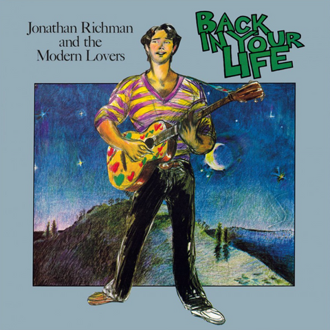 Jonathan Richman & The Modern Lovers - Back In Your Life LP (Silver Vinyl)