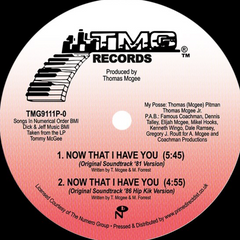 Thomas McGee - Now That I Have You EP