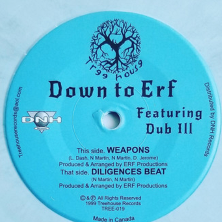 Down To Erf - Weapons 7-Inch