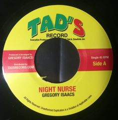 Gregory Isaacs - Night Nurse 7-Inch