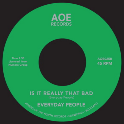 Everyday People - Super Black 7-Inch