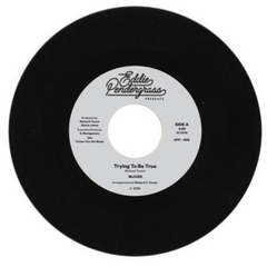 McIVER - Trying To Be True b/w Looking In The Eyes Of Love 7-Inch