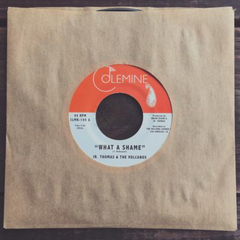 Jr. Thomas & The Volcanoes - What A Shame / Brian Wilson 7-Inch