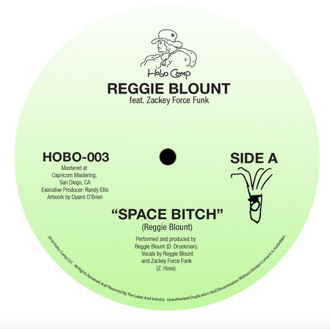 Reggie Blount & Zackey Force Funk - Space Bitch / Stimulant 7-Inch