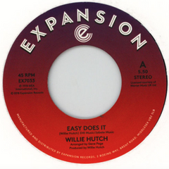 Willie Hutch - Easy Does It 7-Inch