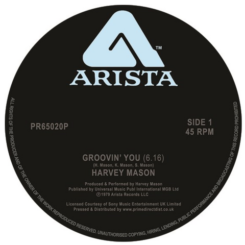 Harvey Mason - Groovin You EP