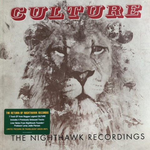 Culture - The Nighthawk Recordings LP