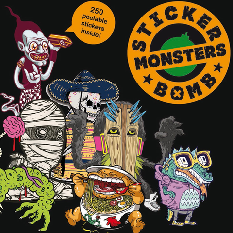 Stickerbomb Monsters Book