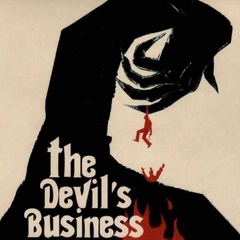 Justin Greaves - The Devil's Business (Original Motion Picture Soundtrack) LP