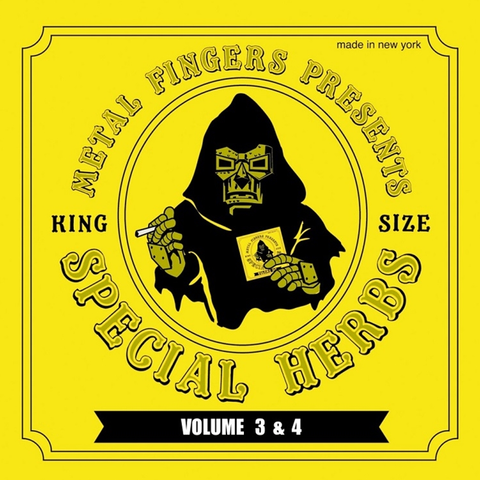 MF Doom - Special Herbs Volumes 3 & 4 2LP + 7-Inch