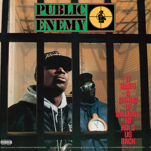 Public Enemy - It Takes A Nation Of Millions To Hold Us Back LP (3D Lenticular Cover)