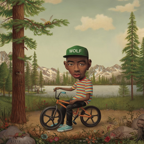 Tyler The Creator - Wolf (Deluxe 2LP + CD Limited Colored Vinyl)