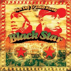 Mos Def and Talib Kweli are Black Star LP Limited Edition Two Tone Picture Disc