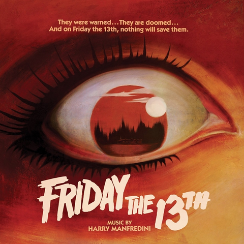 Harry Manfredini - Friday the 13th - 1980 Original Motion Picture Score - Limited Edition 180g Colored LP