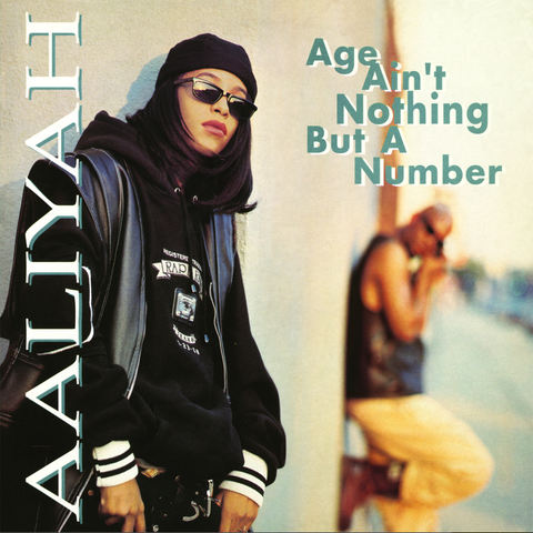 Aaliyah - Age Ain't Nothing But a Number LP Colored Vinyl