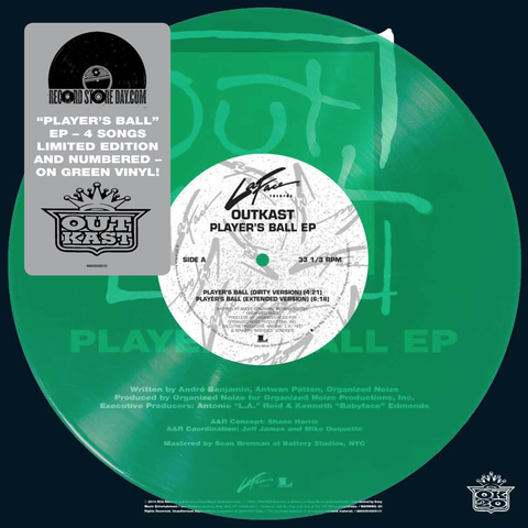 Outkast - Player's Ball 10-Inch EP (translucent green numbered edition)