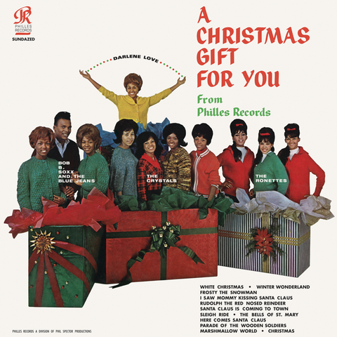 Phil Spector and Various Artists - A Christmas Gift For You 180g LP Red Vinyl